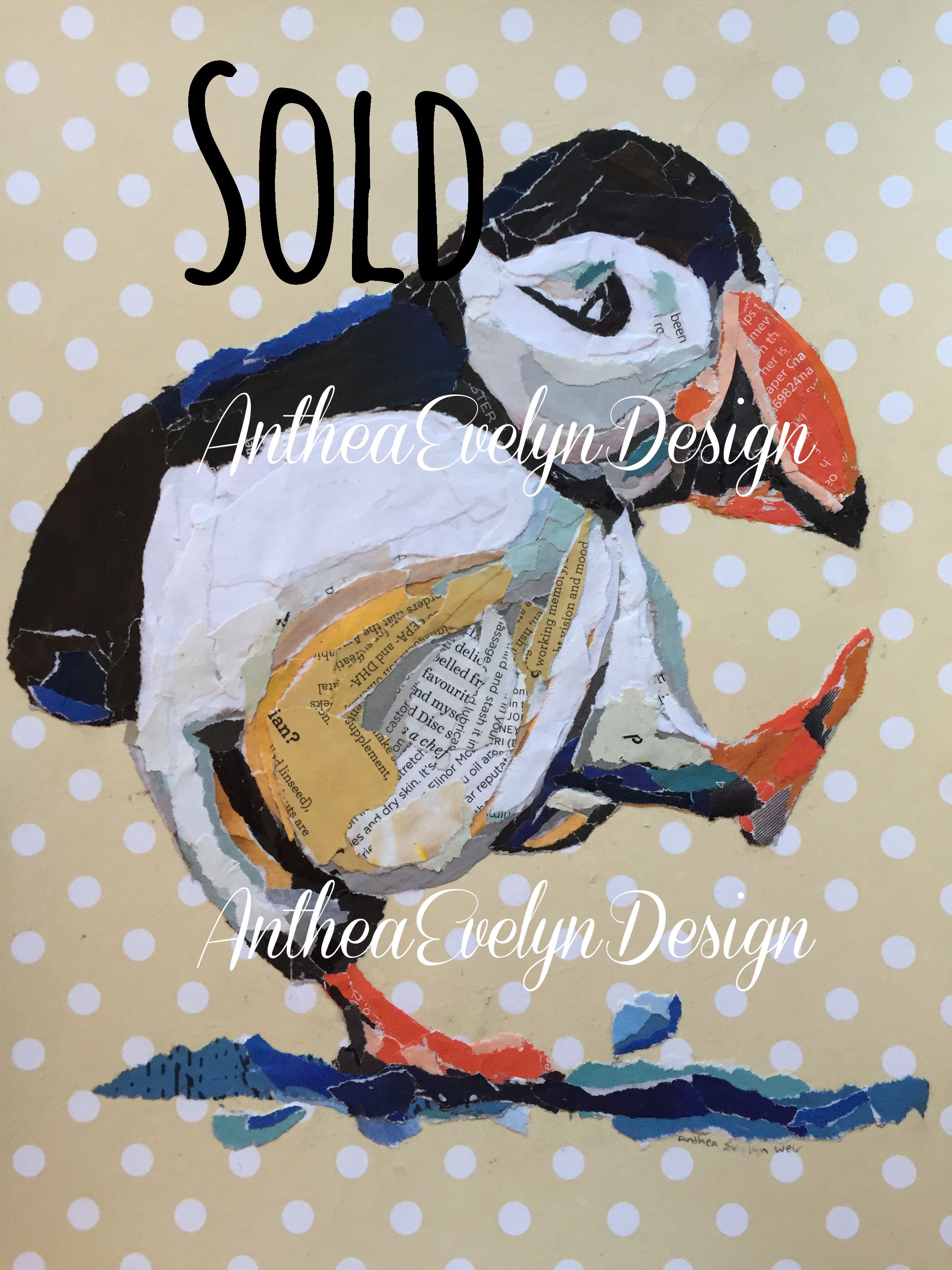 P1062 Puffin SOLD