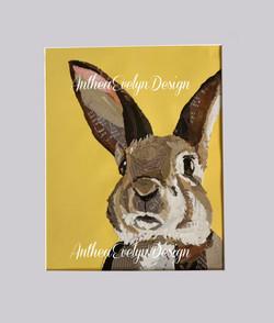 P1136 Rabbit yellow AED