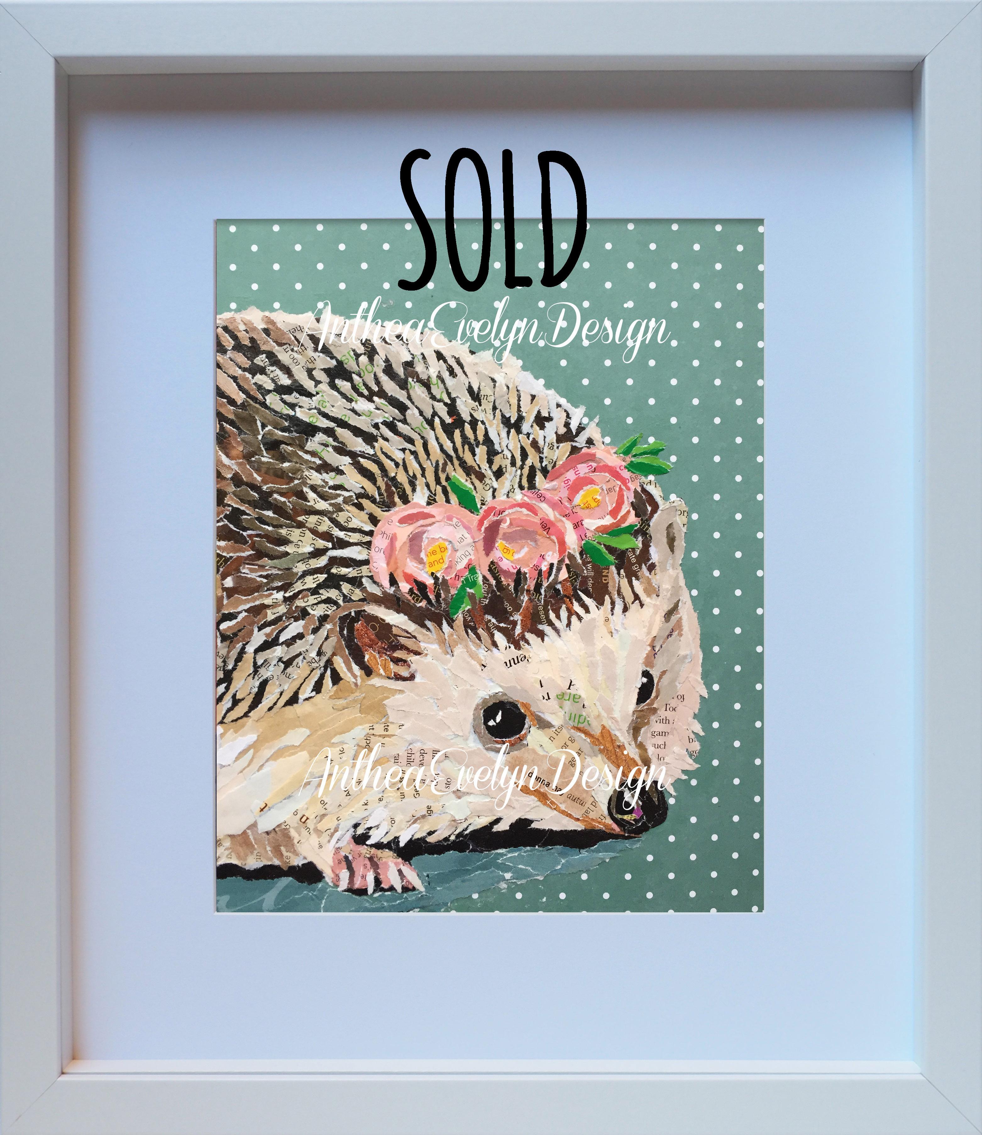P1064 Hedgehog SOLD