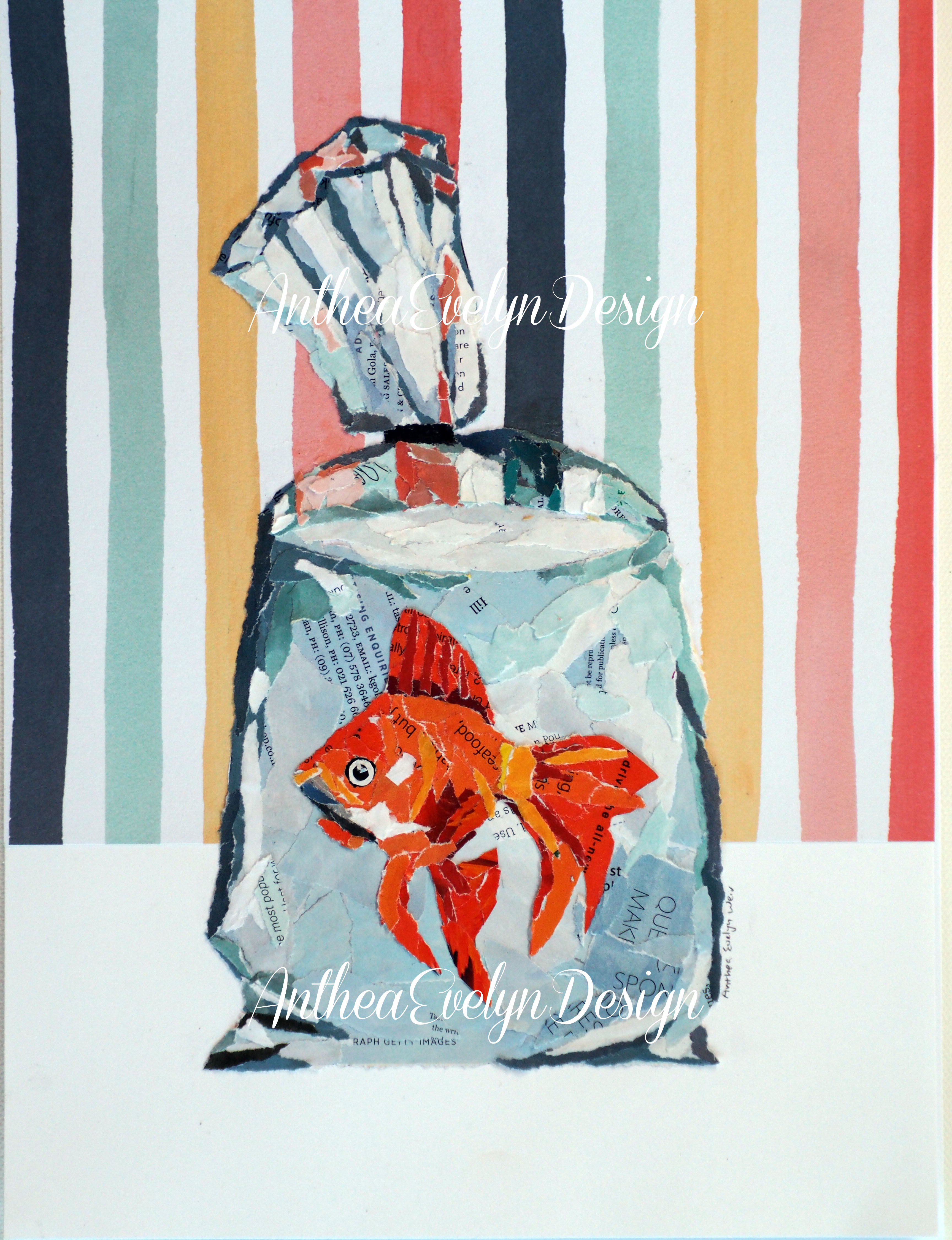 P1091 Fish in bag $135
