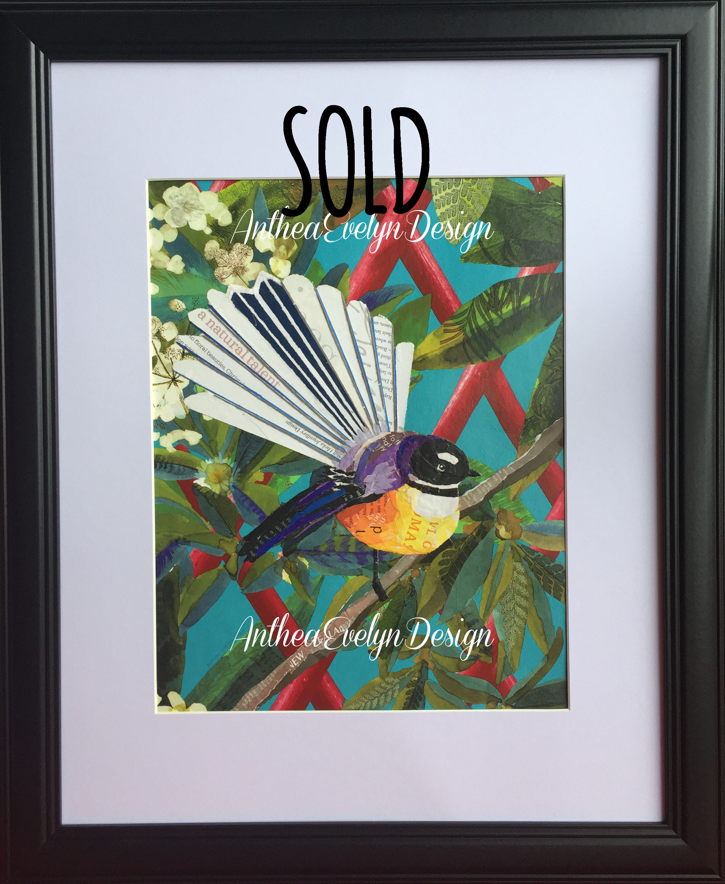 P1120 Fantail A3 SOLD