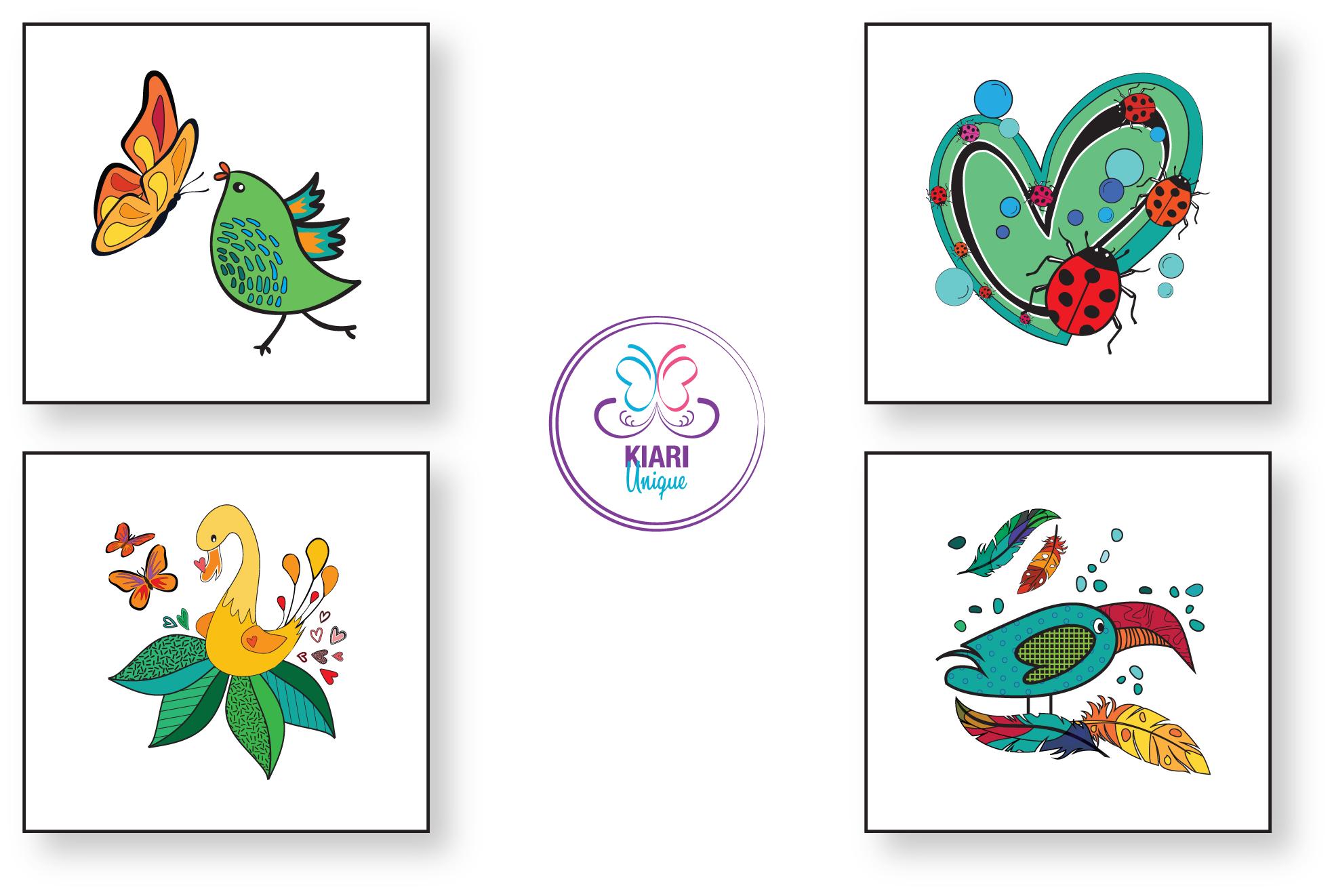 Kiara stickers