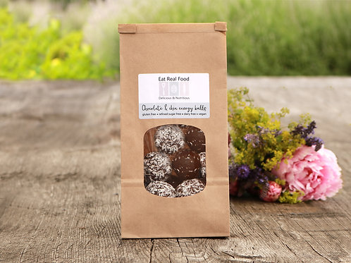 Chocolate & Chia Energy Balls (12pcs)- Henley only