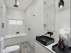 It's always great to see the finished product! We couldn't be happier with how this bathroom turned
