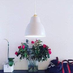 This awesome little 'Courbe' pendent went up today from _citta and we love it. 👍💡......simple yet