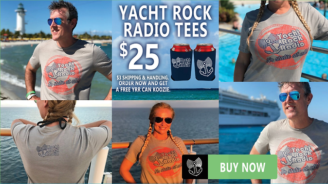 Yacht Rock Radio Tee Shirts