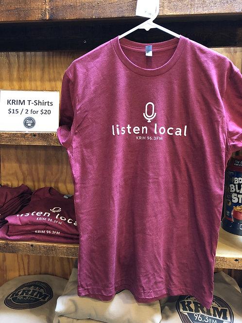 Listen Local T-Shirt