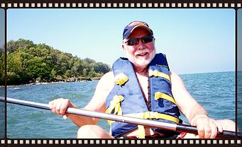 Fred Kayaking