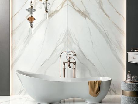 Introducing our range of porcelain bathroom tiles
