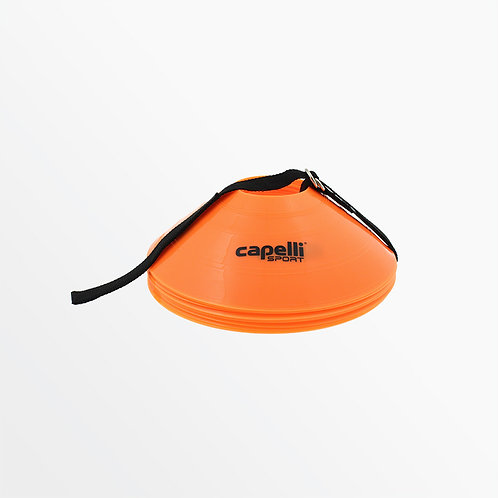 SOCCER TRAINING CONES W/ CARRY STRAP