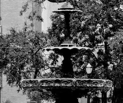 The Ketchum Fountain and Historic Moments in Bienville Square