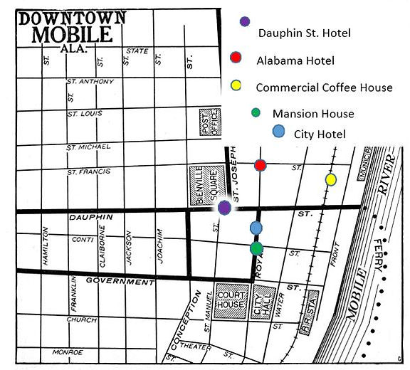 1830s map of 5 hotels in Mobile.JPG
