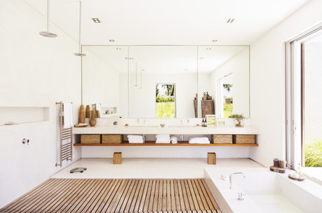 A Bathroom That Breeds Abundant Health and Wealth