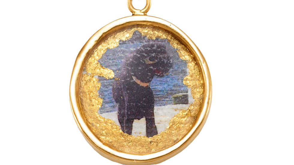 Small Round or Rectangular Pendant (Order separately from necklaces/bracelets)