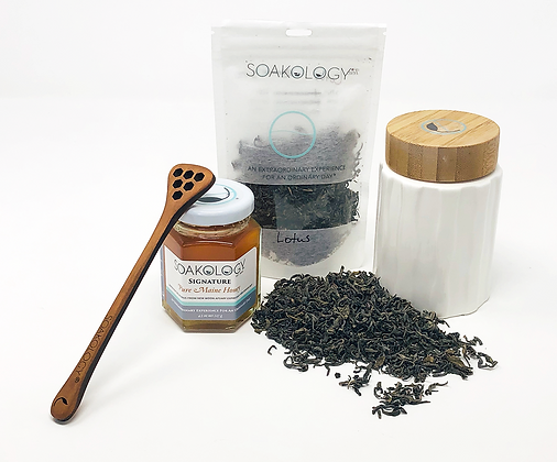 Tea & honey gift set
