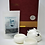 Thumbnail: white celadon 3-piece tea set with tea