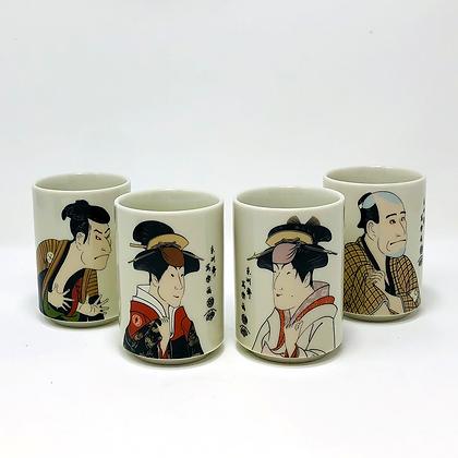 costume tea mug set