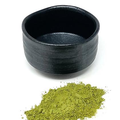 black matcha bowl