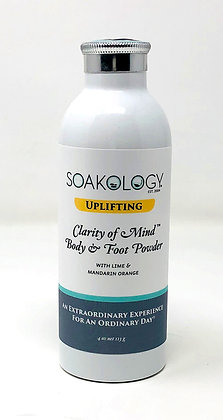 UPLIFTING: clarity of mind™ body and foot powder