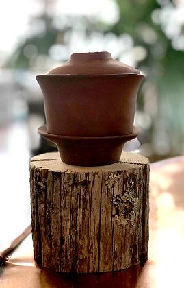 terracotta gaiwan teacup