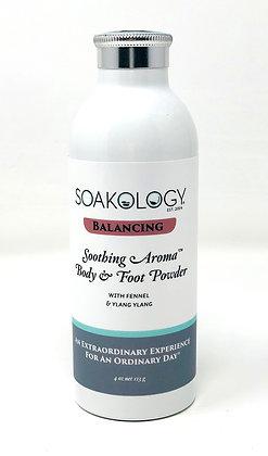 BALANCING: soothing aroma™ body and foot powder