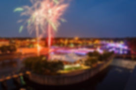 Fireworks and Century Center Island.jpg