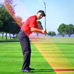 swing fault - over the top at lee chiropractic clinic