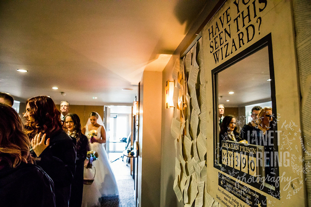 Harry Potter Wedding Manchester Janet Wareing Photography