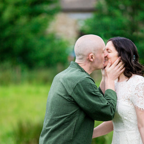 Rebecca and Andrew's Laid-Back and Personal Woodland Wedding