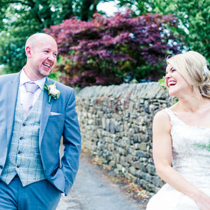 A Relaxed, Elegant Wedding at The Fence Gate, Burnley - Alex and Damian