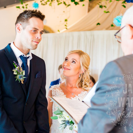 An Intimate Wedding at The Moorlands Loft - Michelle and Nate
