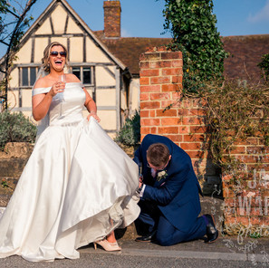 Eckington Manor Wedding Photography - A Fun, Relaxed and Real Wedding - Cat and Rob