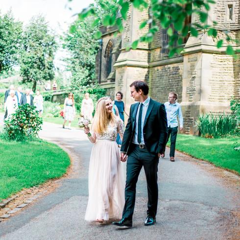 Todmordent Unitarian Church Wedding