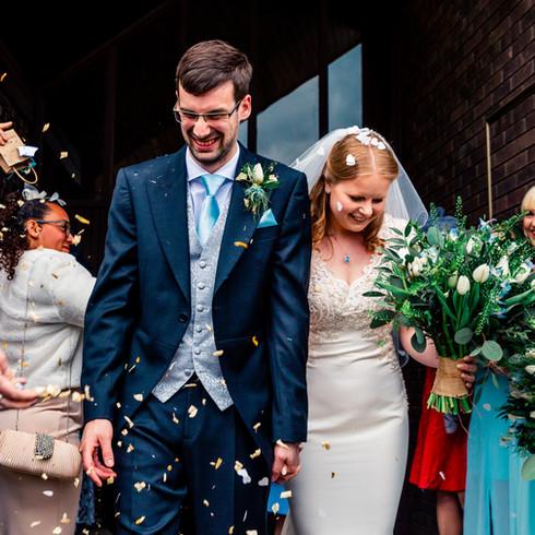 St Columbas Church Chester wedding