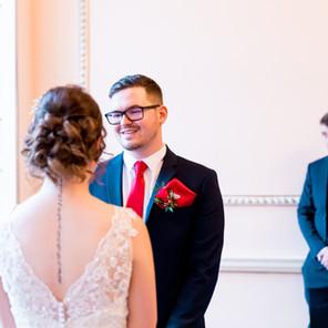 A Cosy Winter Wedding at Nanteos Mansion Aberystwyth - Rachel and Mark