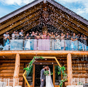 A Laid Back Intimate Wedding  - Hidden River Cabins // Russell & Hayley
