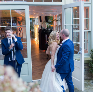 A Glamorous Summer Wedding at Mitton Hall
