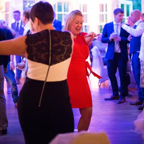 Mitton Hall wedding reception. DFC DJ set