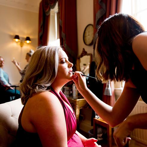Natural Wedding Photography bridal prep