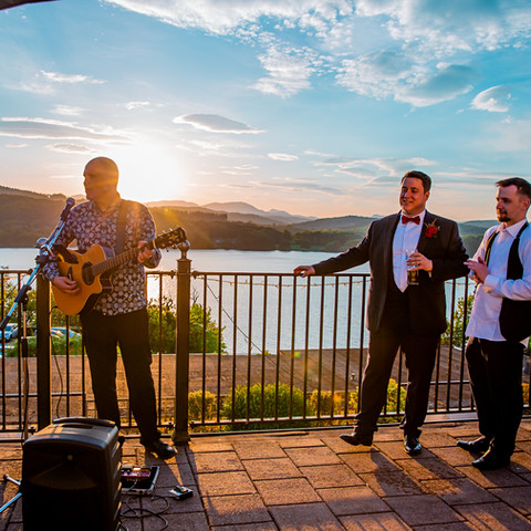 Matthew Stephens performs at Beech Hill Windermere