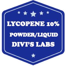 Lycopene 10% Powder/Liquid - Divis Labs