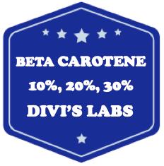 Beta carotene - Divis labs
