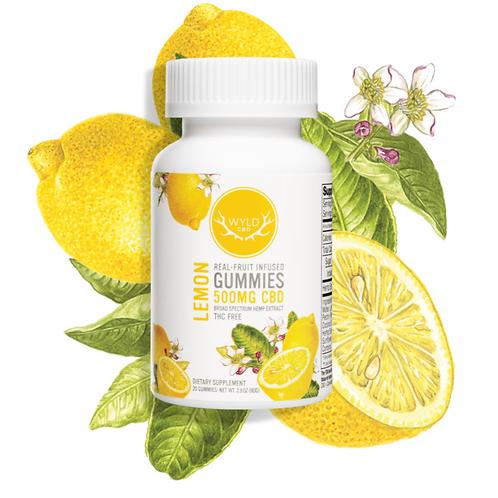 Wyld CBD Lemon Gummies