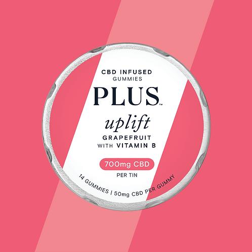 PLUS CBD 'Uplift' Grapefruit Gummies