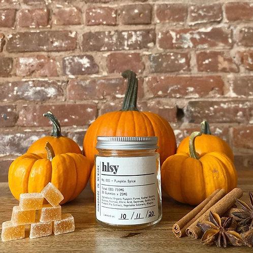 Halsey Co. Pumpkin Spice CBD Gummies