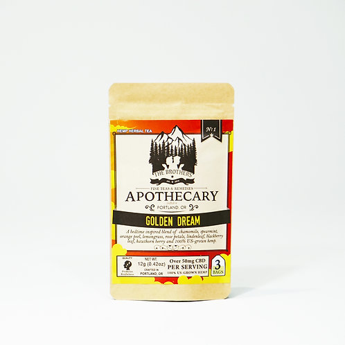 The Brothers Apothecary Golden Dream | Hemp CBD Tea
