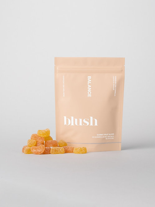Blush 'Balance' Lemon & Orange CBD Gummies