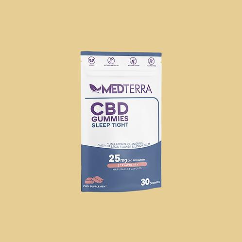 MedTerra CBD Gummies   Sleep Tight