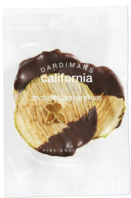 Dardiman's Dark Chocolate Apple Slices