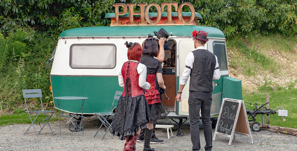 Dixie caravane photobooth